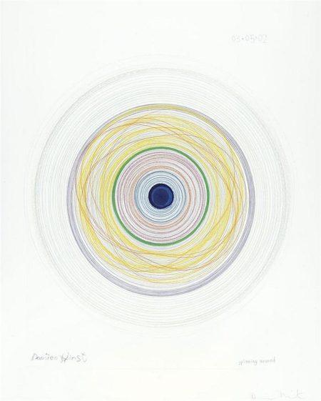 Damien Hirst-Spinning Around-2002