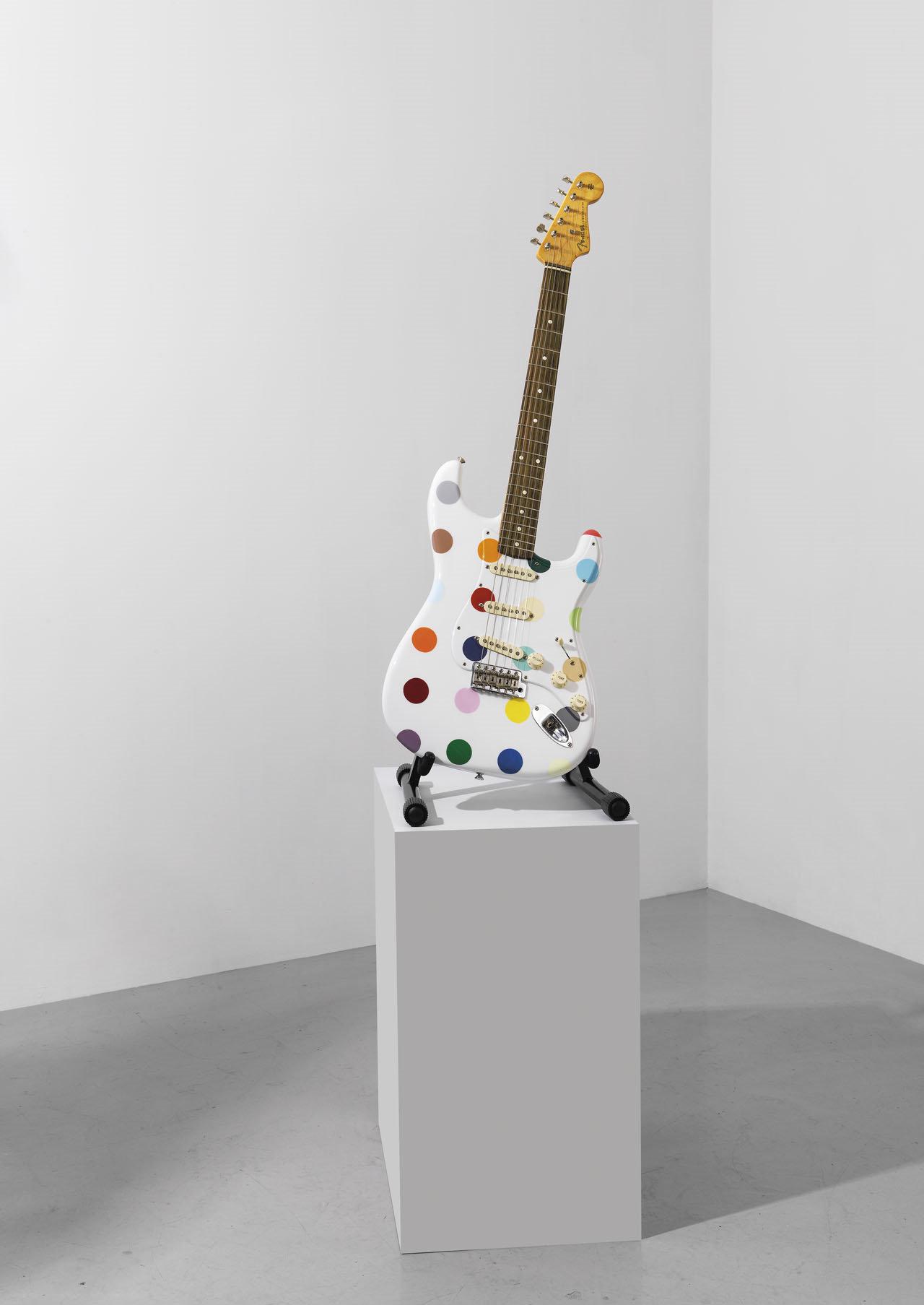 Damien Hirst-Spot Fender Stratocaster-2010