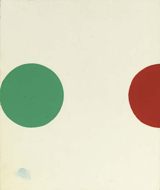 Damien Hirst-Spot Painting-1993