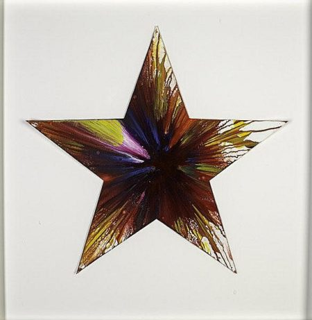 Damien Hirst-Star Spin Painting-
