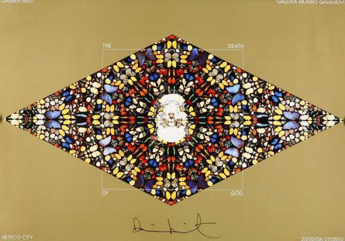 Damien Hirst-The Death of God-Love, Lies, Bleeding (La Muerte De Dios)-2006