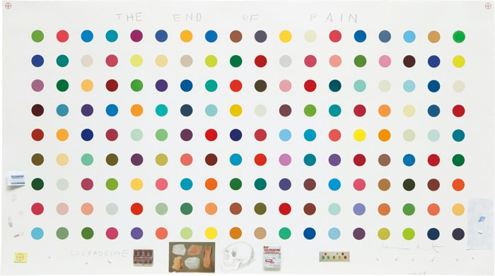 Damien Hirst-The End of Pain-2004