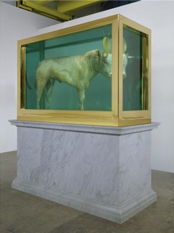 Damien Hirst-The Golden Calf-2008