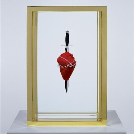 Damien Hirst-The Immaculate Heart, Lost-2008