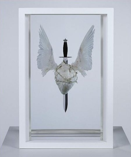 Damien Hirst-The Immaculate Heart, Sacred-2008