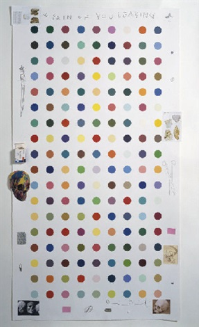 Damien Hirst-The Pain of You Leaving-2004