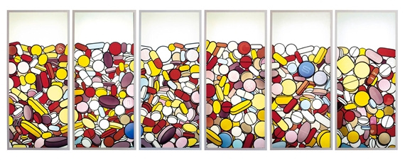 Damien Hirst-The Pharmaceutical Windows-1998