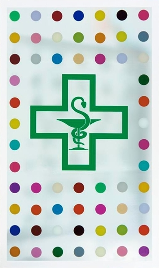Damien Hirst-The Pharmacist's Creed-1998