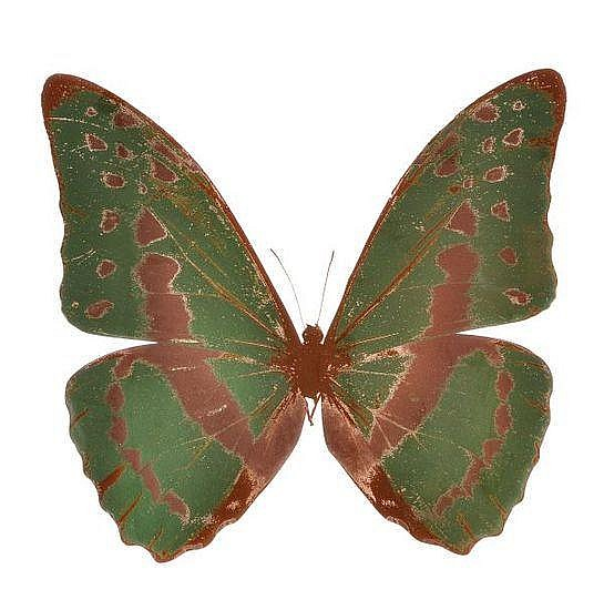 Damien Hirst-The Souls III: Leaf Green, Rustic Copper-2010