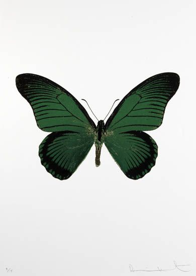 Damien Hirst-The Souls IV: Emerald Green, Raven Black, Cool Gold-2000