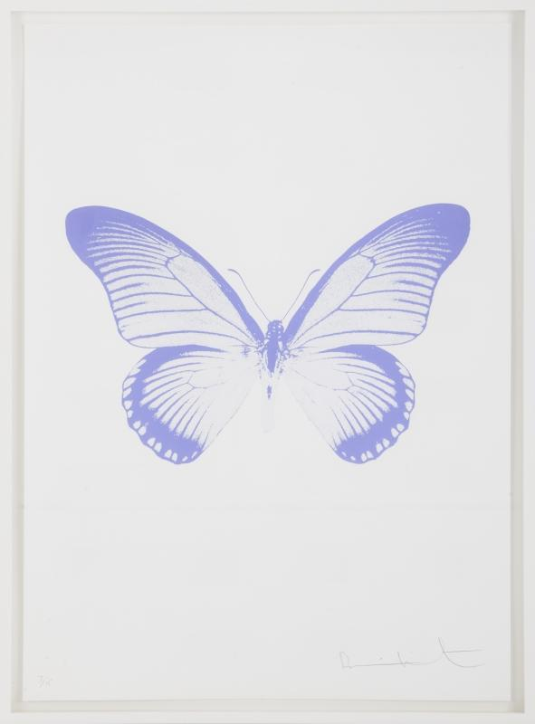 Damien Hirst-The Souls IV (Purple and Silver)-2010