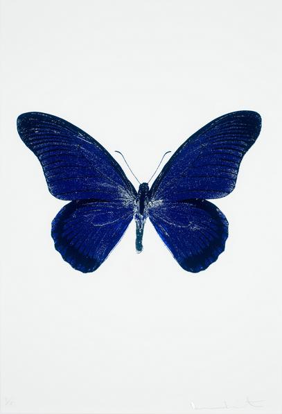 Damien Hirst-The Souls IV: Westminster Blue, Raven Black, Cool Gold-2010