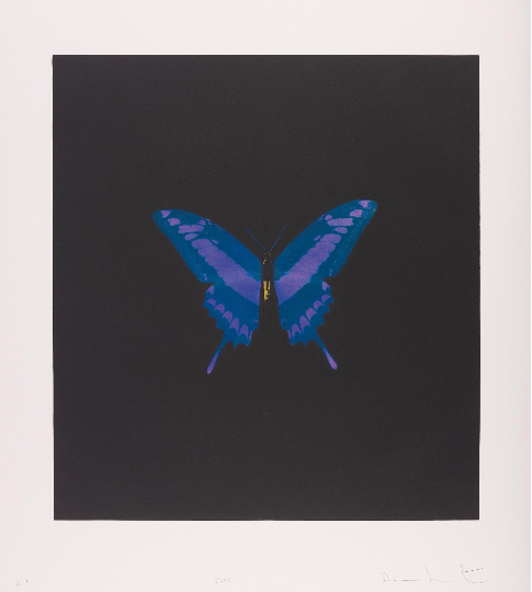 Damien Hirst-The Souls on Jacob's Ladder Take Their Flight-2008
