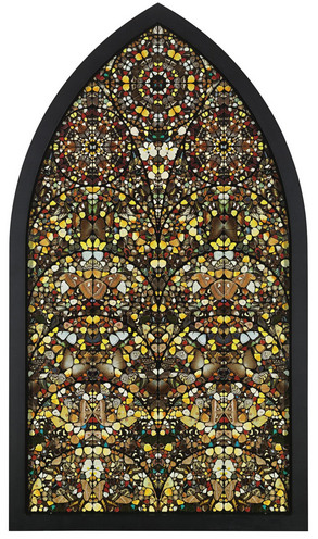 Damien Hirst-The Trees the House-2006