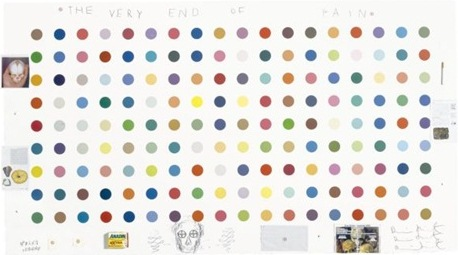 Damien Hirst-The Very End of Pain-2004