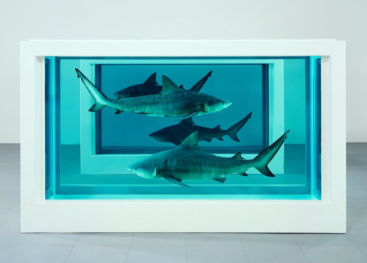 Damien Hirst-Theology, Philosophy, Medicine, Justice-2008