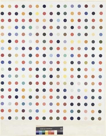 Damien Hirst-Thiosalicyclic Acid Pharmaceutical Painting-2005