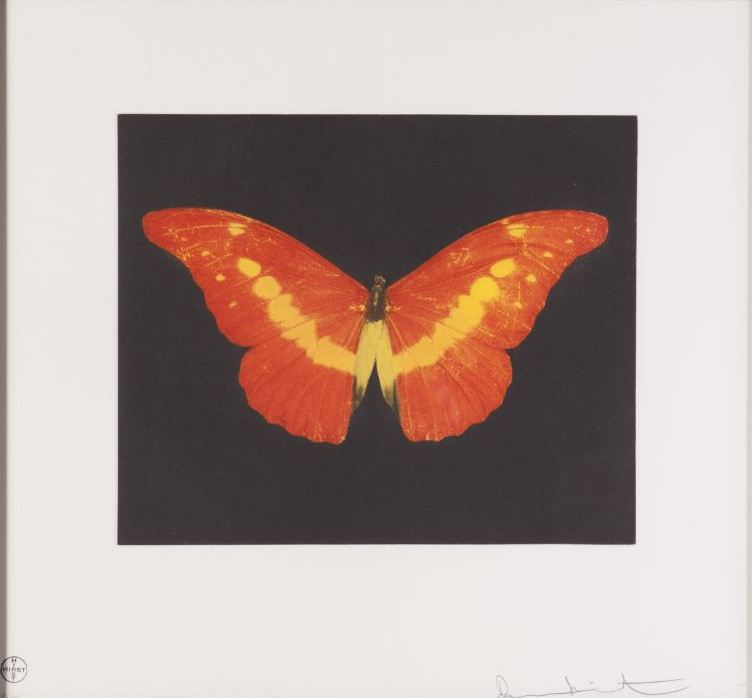 Damien Hirst-To Love (Rusty Butterfly)-2008