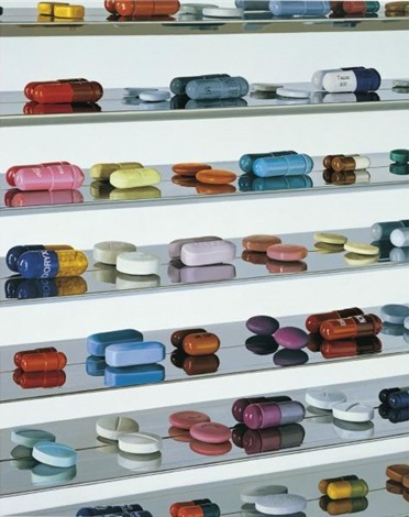 Damien Hirst-Twenty-nine Pills-2008