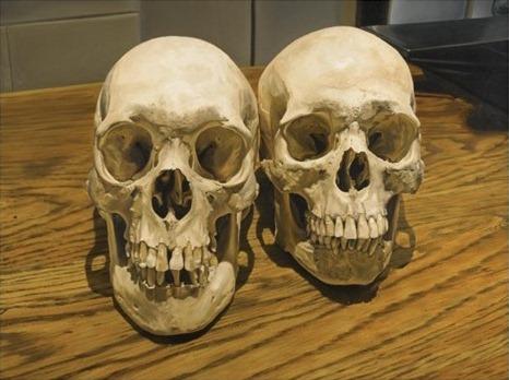 Damien Hirst-Two Skulls-2006