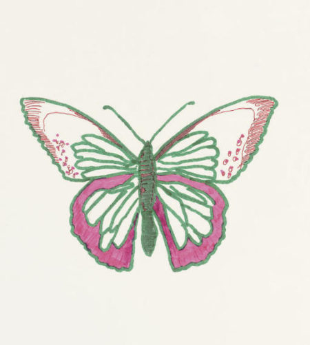 Damien Hirst-Untitled (Butterfly Drawing)-2006