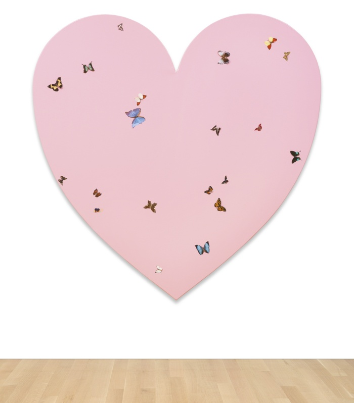 Damien Hirst-Untitled (Butterfly Heart)-2002
