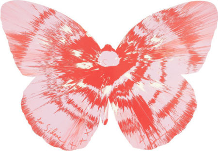 Damien Hirst-Untitled (Butterfly Spin Painting)-2011