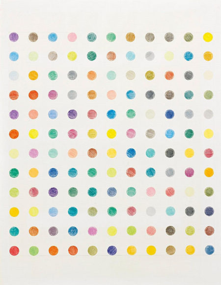 Damien Hirst-Untitled F (Spot Drawing)-1995