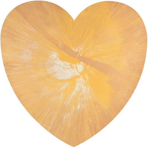 Damien Hirst-Untitled (Heart Spin Painting)-2011
