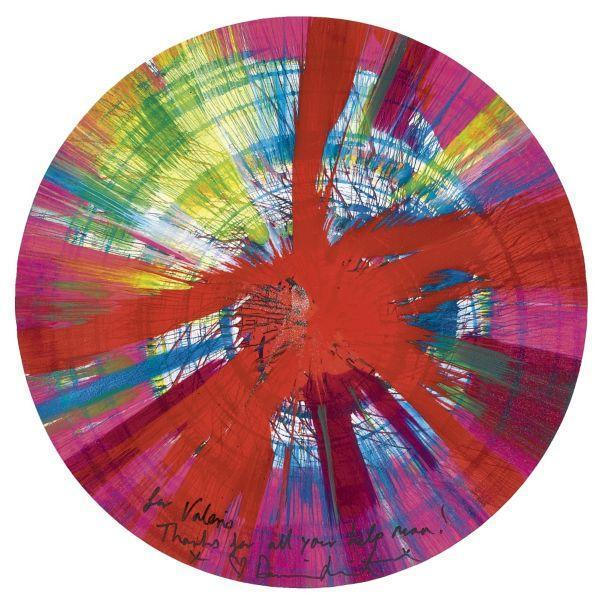Damien Hirst-Untitled (Spin Painting)-2005