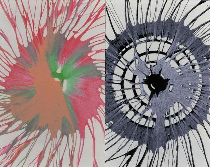 Damien Hirst-Untitled (Spin, from War Child)-1995