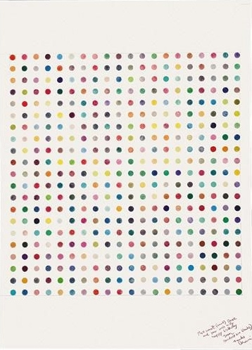 Damien Hirst-Untitled (Spot Drawing)-1992