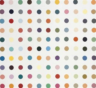 Damien Hirst-Untitled (Spot Painting)-1995