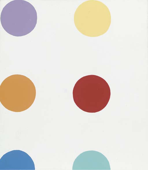 Damien Hirst-Untitled (Spots)-1994