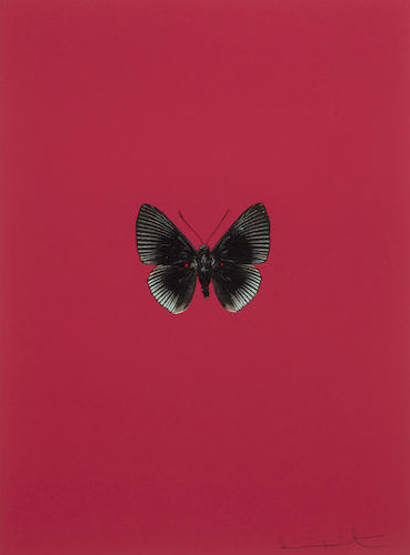 Damien Hirst-Untitled, from It's a Beautiful Day-2013