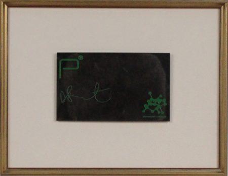 Damien Hirst-V.I.P. Driks Mat, Pharmacy Bar-Restaurant, Notting Hill-2003