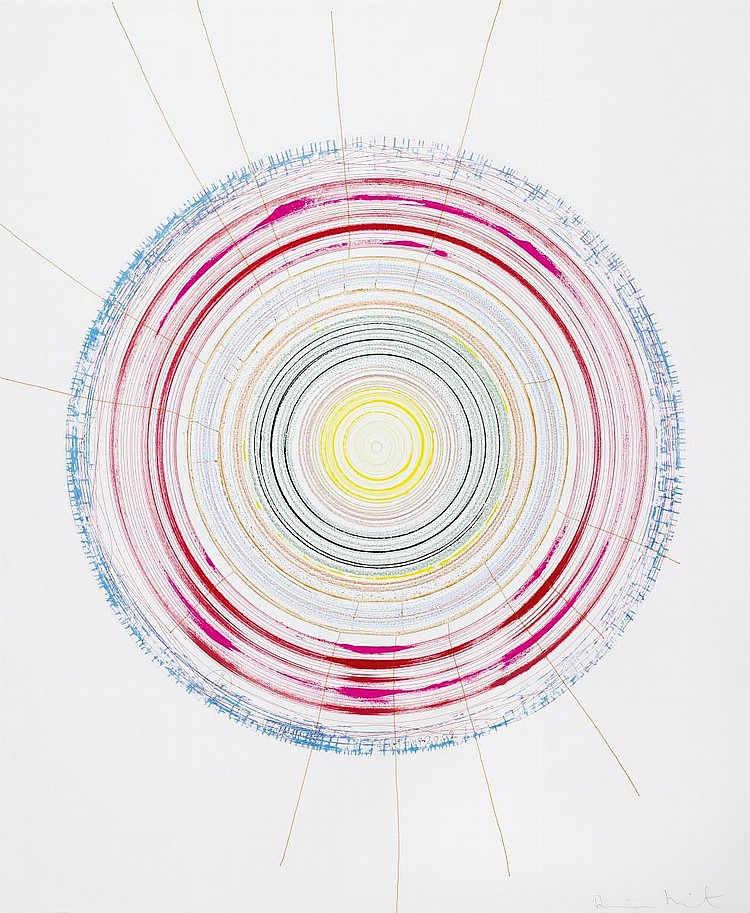 Damien Hirst-Vortex-2002
