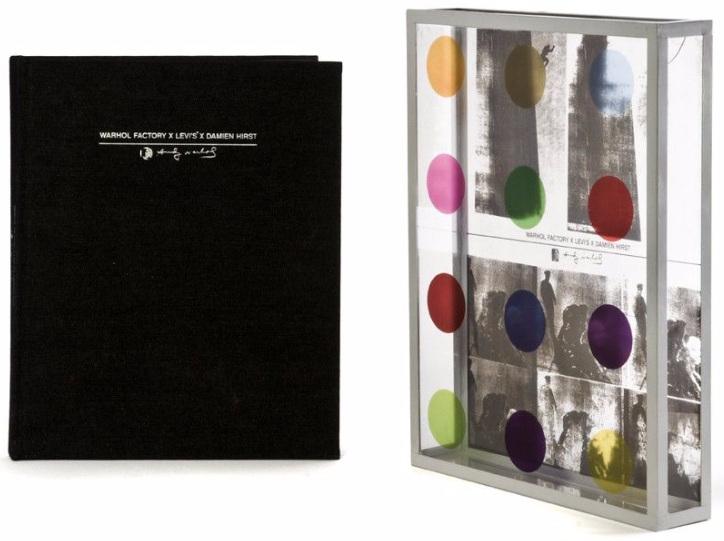 Damien Hirst-Warhol Factory x Levi's x-