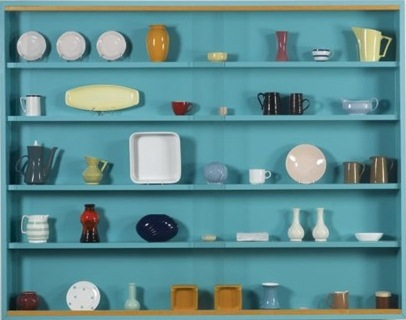 Damien Hirst-We've Got Style (The Vessel Collection - Blue, Green)-1993