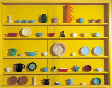 Damien Hirst-We've got Style (The Vessel Collection - Yellow)-1993