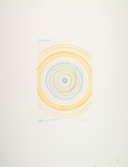 Damien Hirst-Wheel Meet Again (from In a Spin, The Action of the World on Things, Volume I)-2002