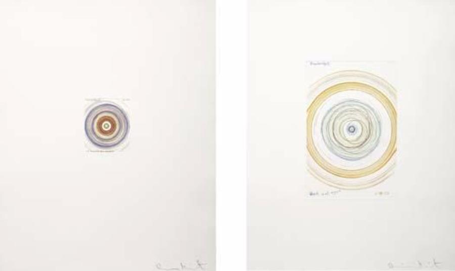 Damien Hirst-Wheel Meet Again, Like a Snowball Down a Mountain-2002