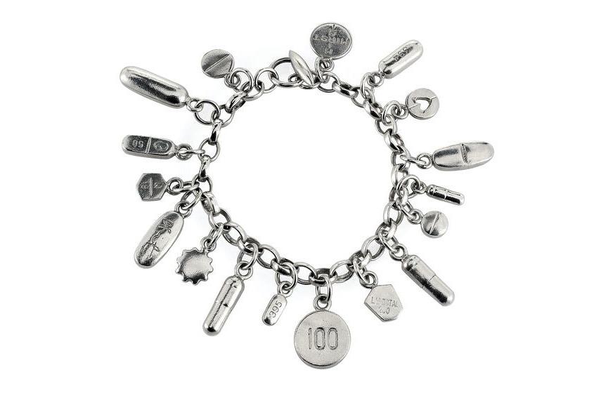 Damien Hirst, bracelet Pill Charm Bracelet, 2004
