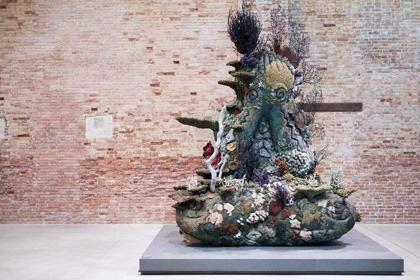 Damien Hirst exhibition 'Treasures from the Wreck of the Unbelievable'