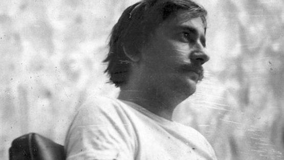 Dan Christensen - portrait, 1967, photo credits Dan Christensen