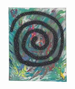Dan Colen-The Big Swirl-2006