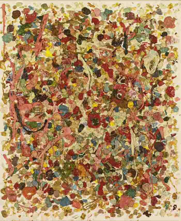 Dan Colen-Two Things I Rarely See The Inside Of-2008