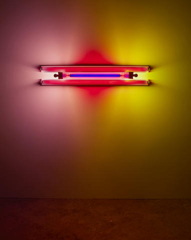 Dan Flavin-Untitled (to Madeline and Eric Kraft)-1992
