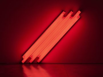 Dan Flavin - untitled (to V. Mayakovsky) 1, 1987