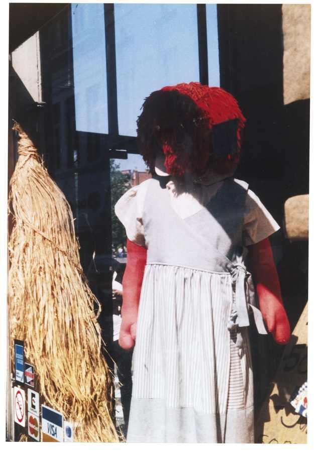 Dan Graham-Shop Mannequin Antwerp-2000